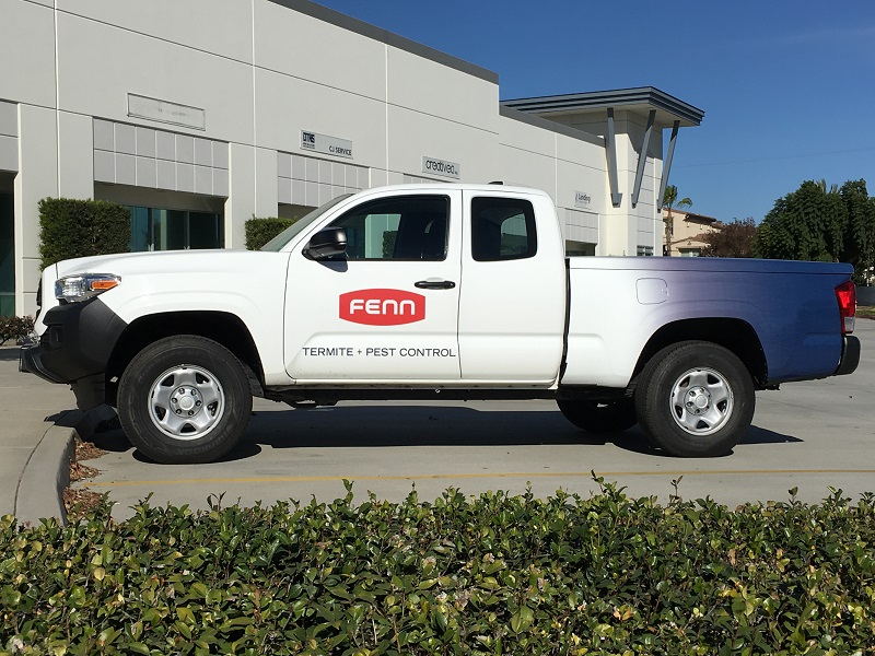 Partial Truck Wraps for Fleets in Orange County