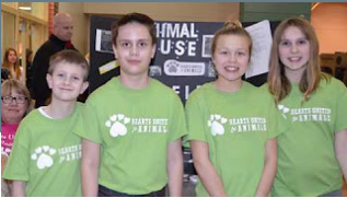 Youth in Philanthropy Award - Scott Middle School