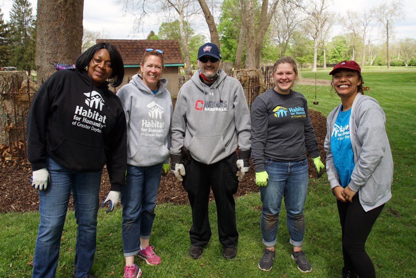 Dayton Habitat Volunteers For Day of Service in Clark County!