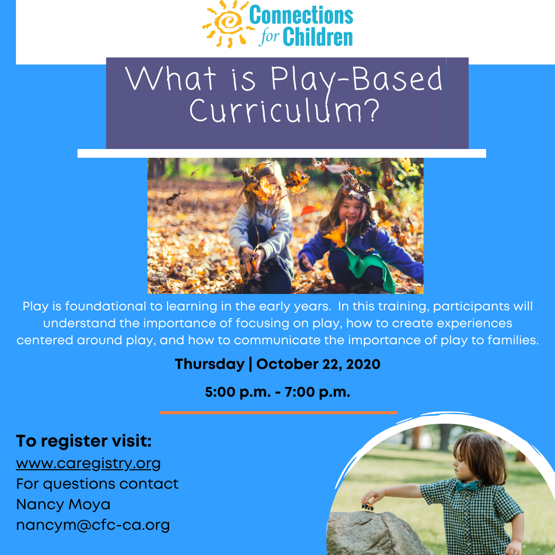 What is play-based curriculum?