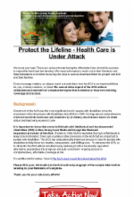 12.20.16 - Protect the Lifeline - Health Care is Under Attack