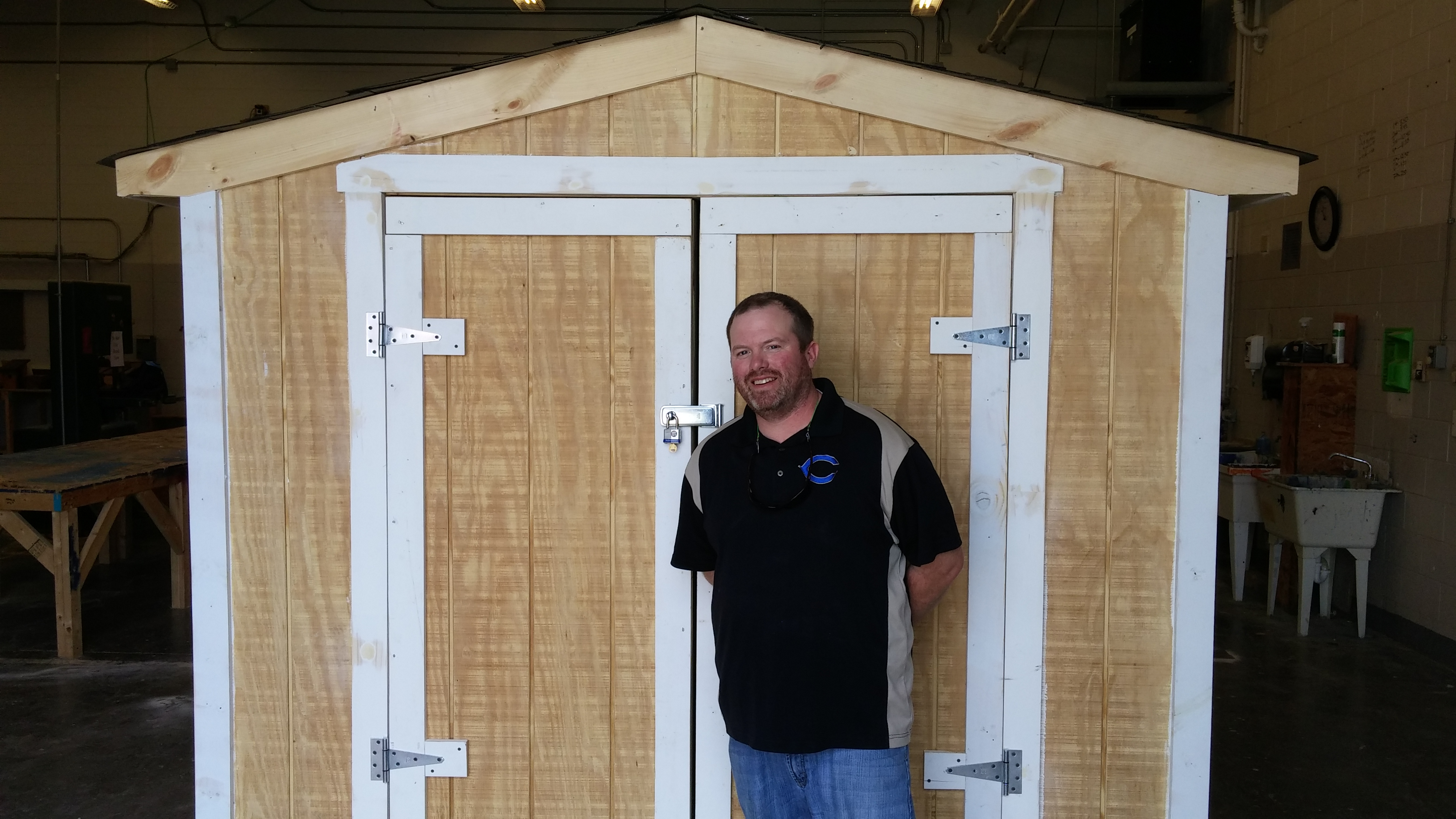 Cumberland Students Build Shed- 2016