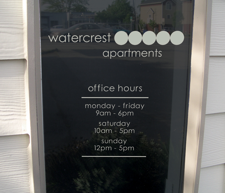 Watercrest Window Hours