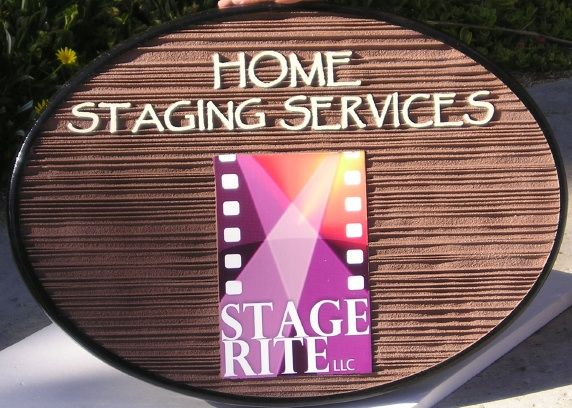 SA28683 - Carved Wood-Grain Sign for Home Staging Services