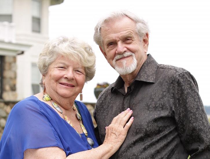 Arlene and George Groch