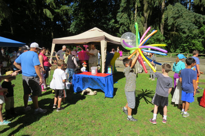 16th Annual Party in the Park 2017
