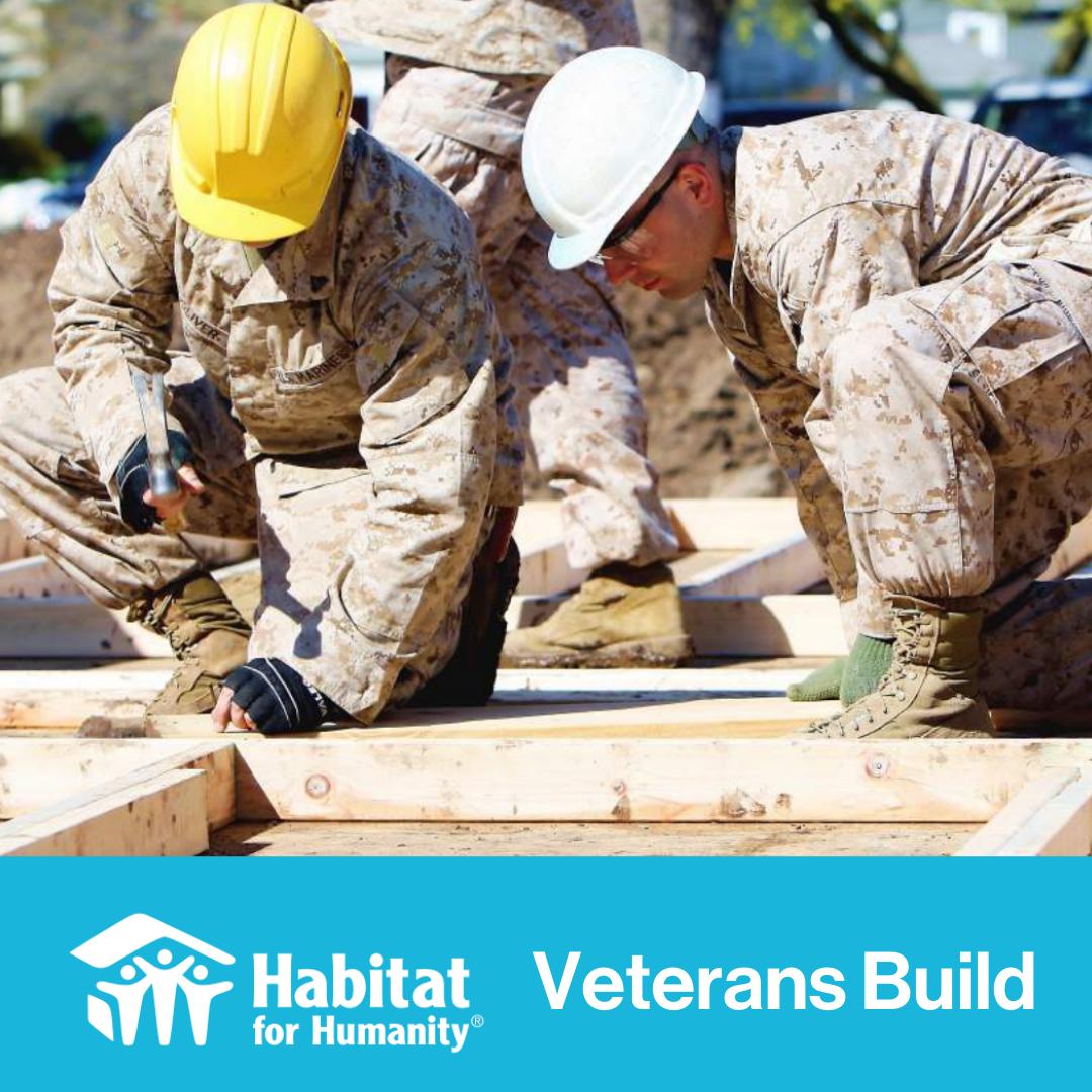 HFHWC is a Veterans Build Affiliate