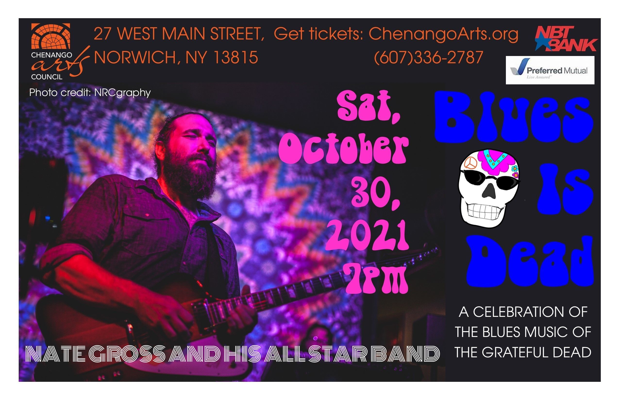 Nate Gross and His All Star Band Present Blues is Dead
