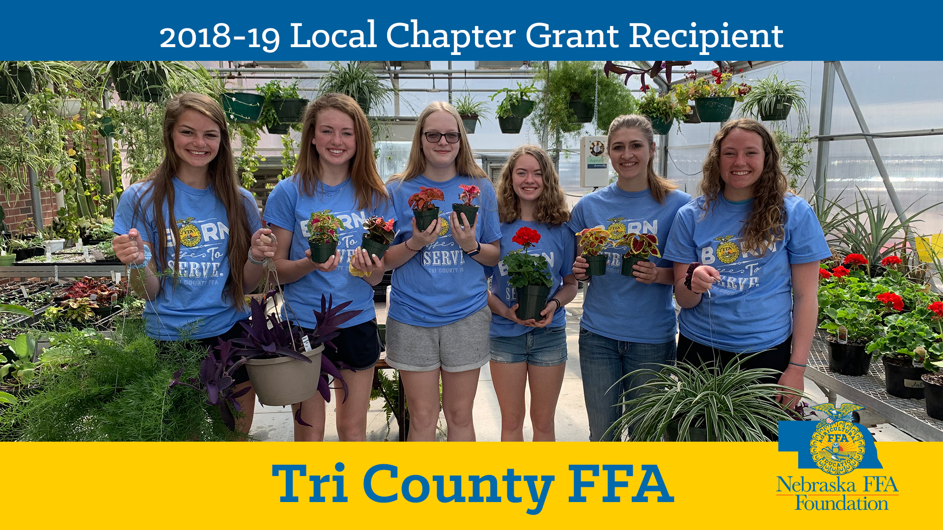 2018 Local Chapter Grant Recipient: Tri County