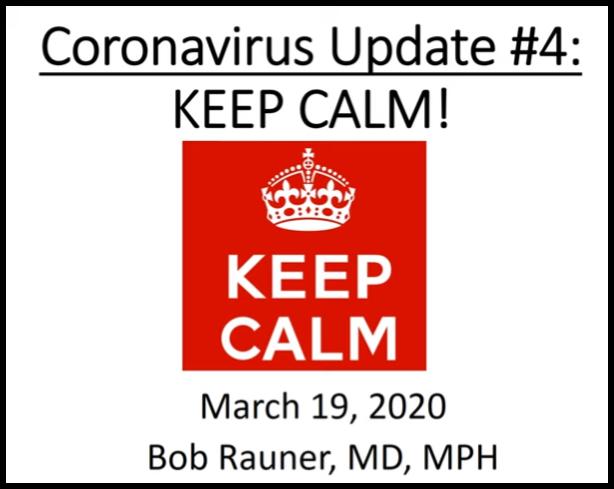 March 19, 2020 Update