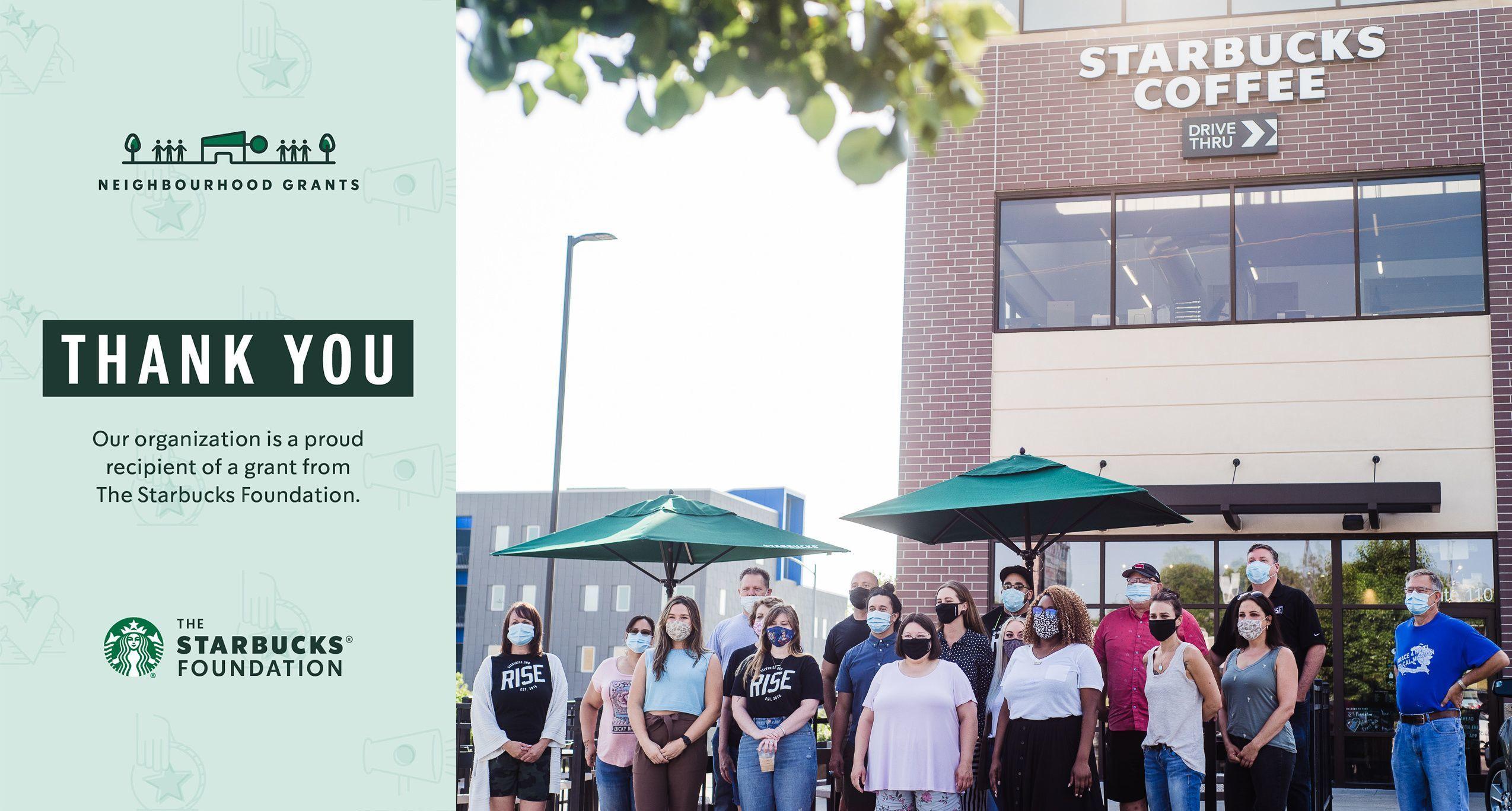 RISE in Nebraska Receives Grand from The Starbucks Foundation