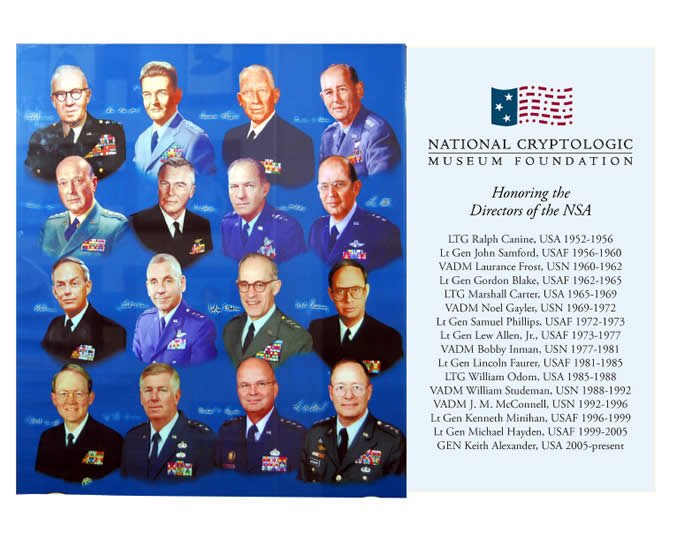 NSA's Past and Present Directors