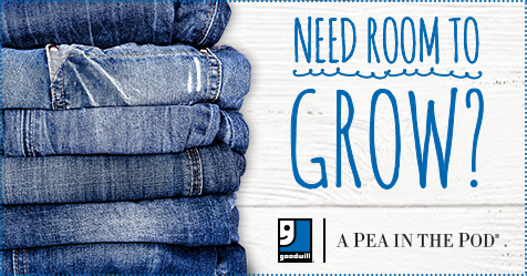 Goodwill® And A Pea In The Pod® Announce Donate Deal For Expectant Mothers
