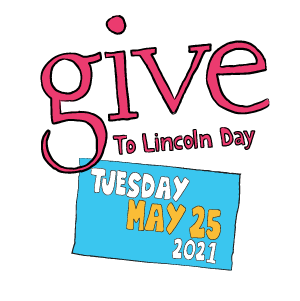 From May 1 - 25, 2021, all donations made through the Give to Lincoln Day site receive a partial match from the Lincoln Community Foundation and it's partners