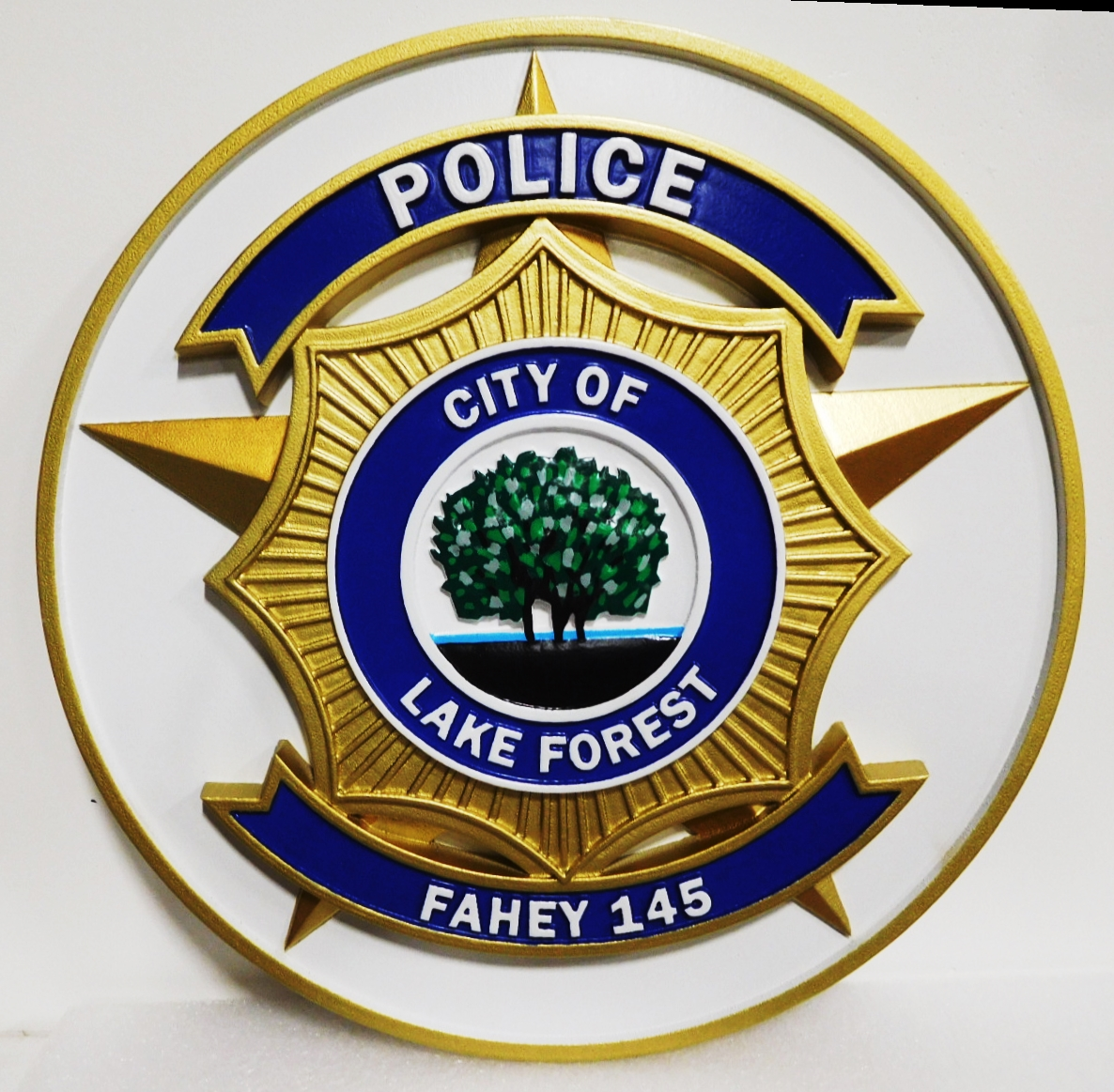 CA1335 - Badge of Police of Lake Forest