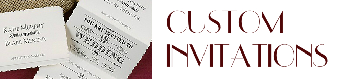 Get an Estimate for Custom Invitations