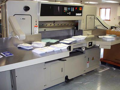 "Saber 45"" Computerized Paper Cutter"