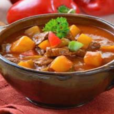 Czech Goulash Soup