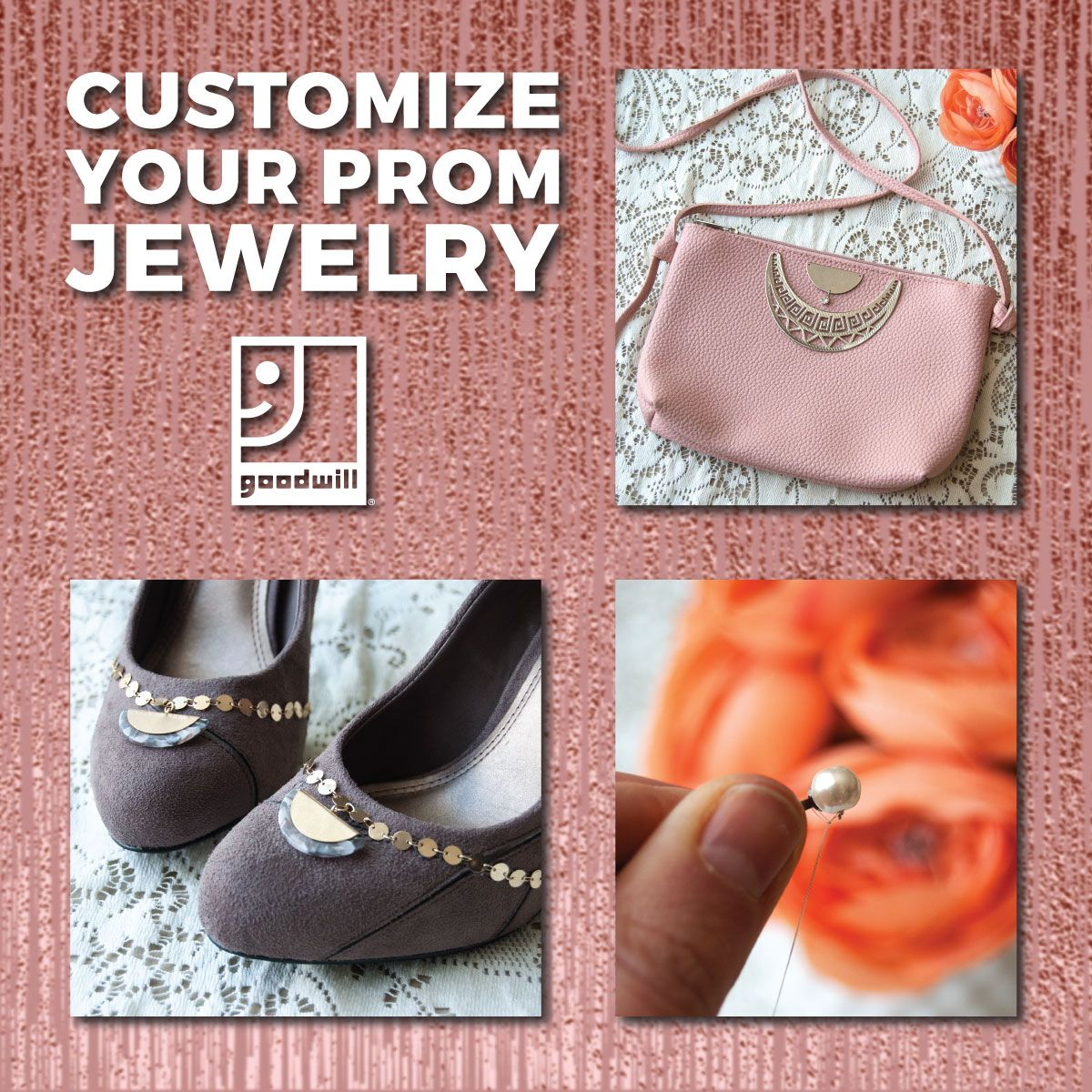3 Unexpected Ways to Customize Your Prom or Wedding Look with Goodwill® Jewelry