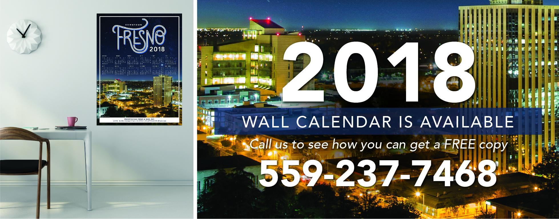 2018 Poster Calendar
