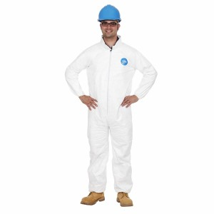 A01UB002 TYVEK COVERALL LARGE