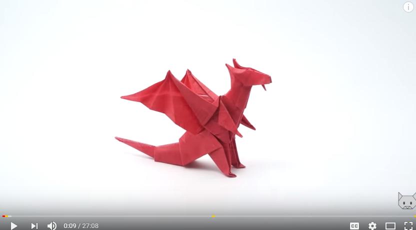 Origami - Dragon