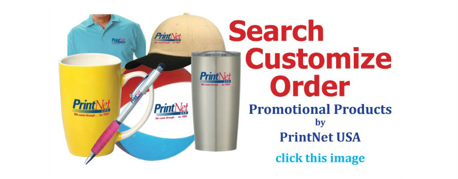 Promotional Products webpage