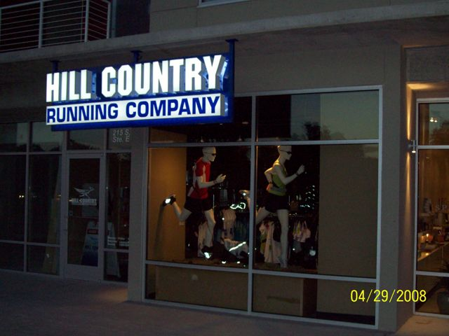 Hill Country Running Company- Manufacture & Installation