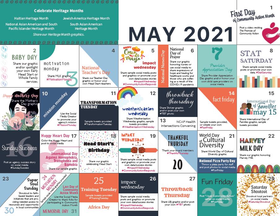 Community Action Partnership of Utah celebrates Community Action Month in May!
