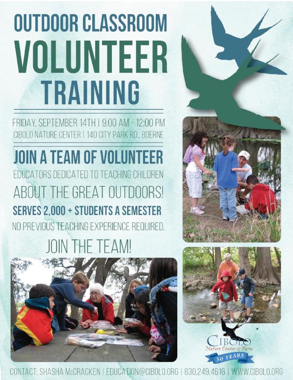 CNC: Outdoor Classroom Educator Volunteer Training