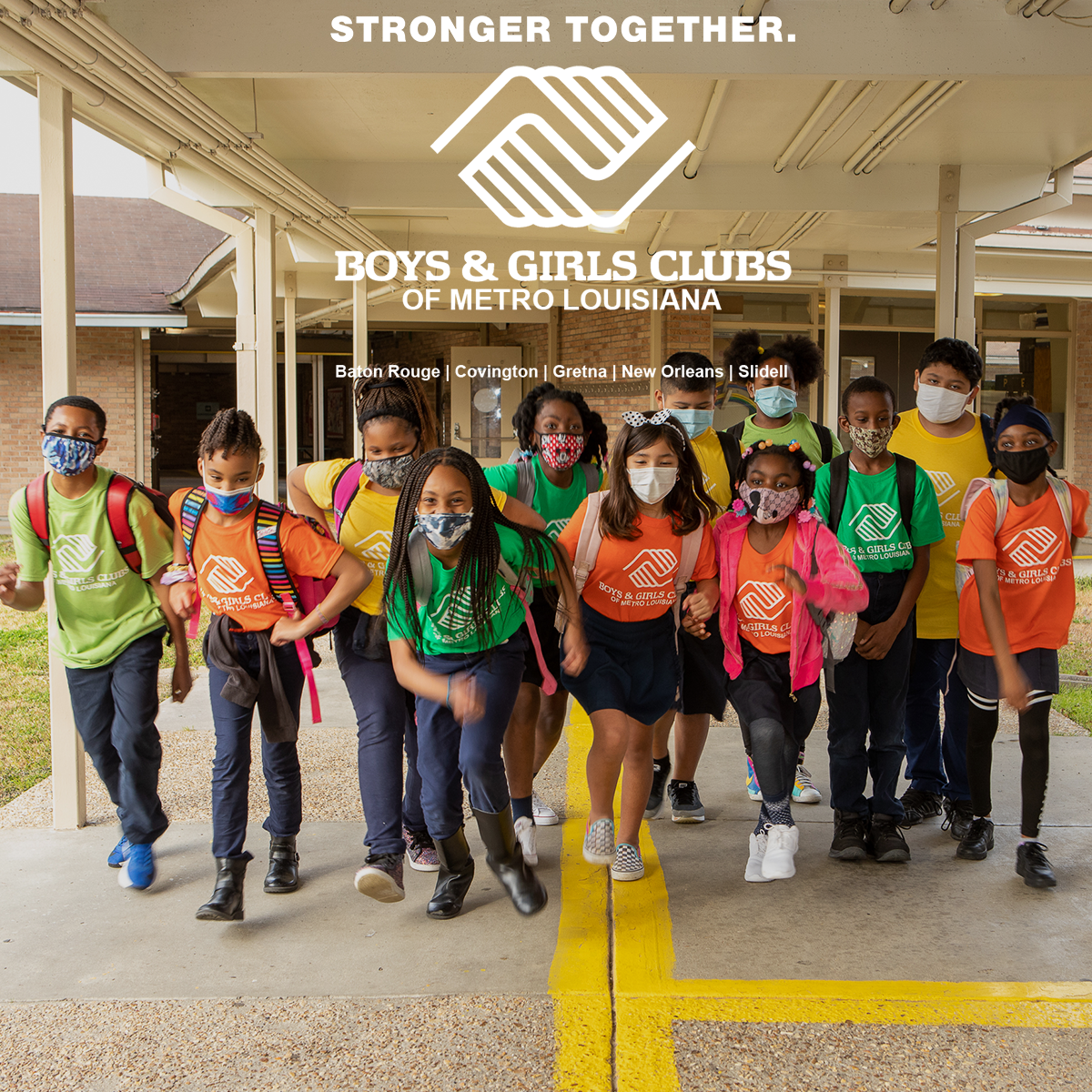 Boys & Girls Clubs in Baton Rouge, Covington, Gretna, New Orleans & Slidell Join Forces to Create Regional Organization