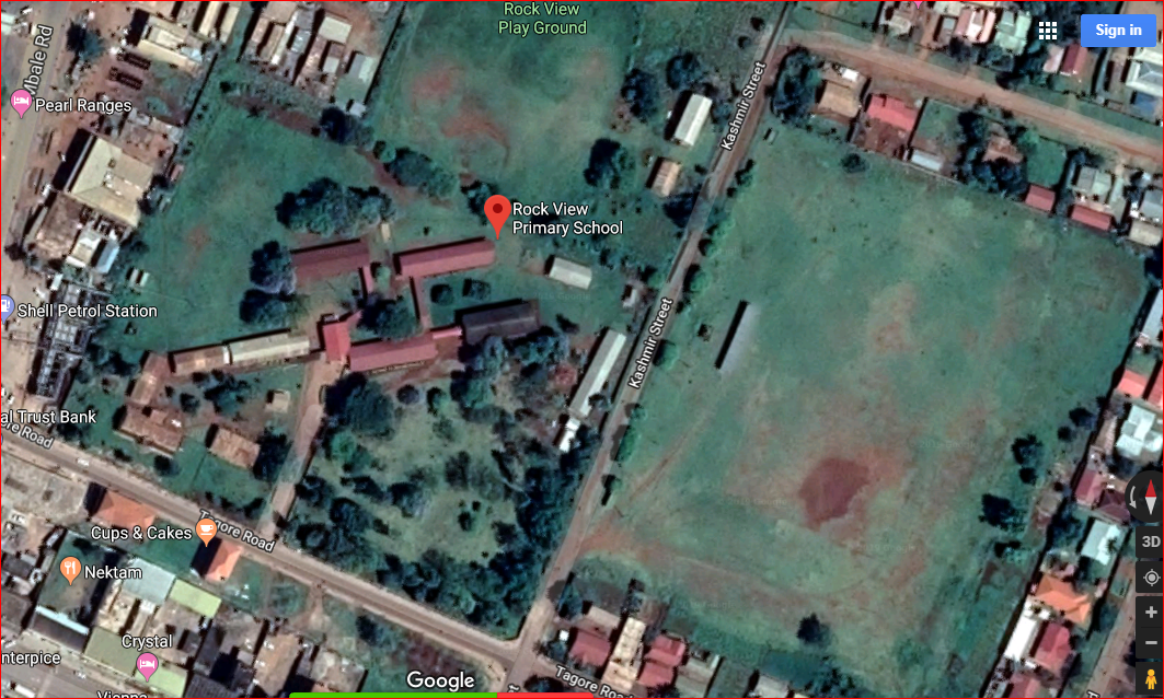 Satellite view of Rock View Primary School