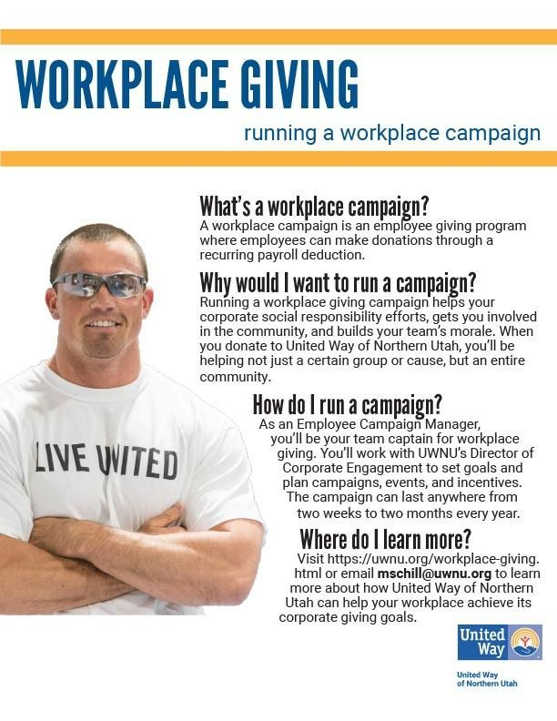 Workplace Giving Fact Sheet