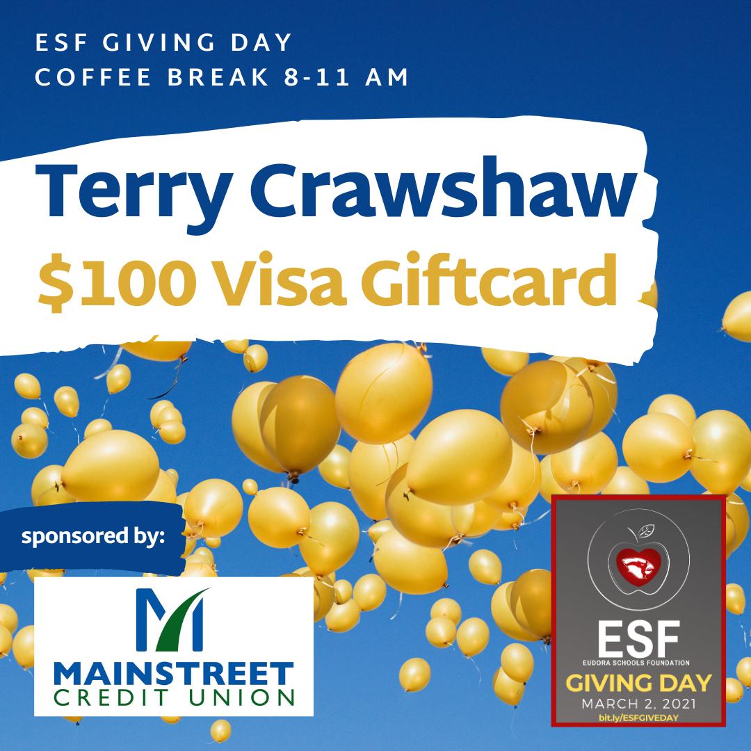 Coffee Break - $100 Visa Gift Card