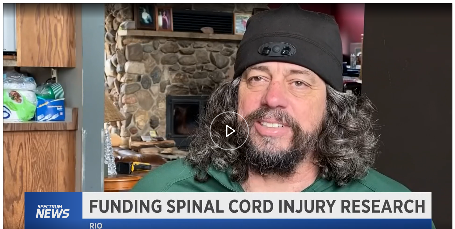 Wisconsin Man Fights to Cure Spinal Cord Injuries