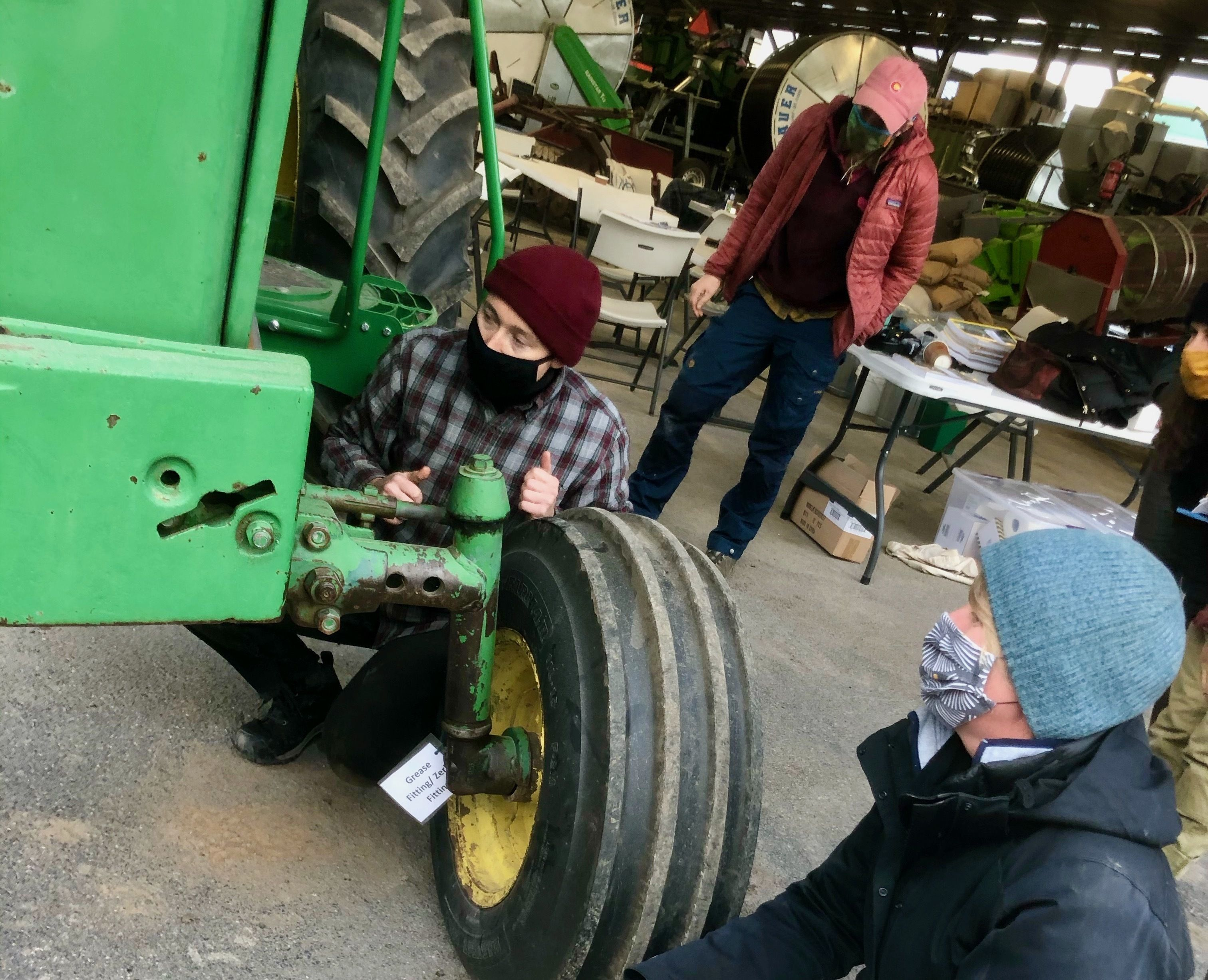Tractor Training for Women