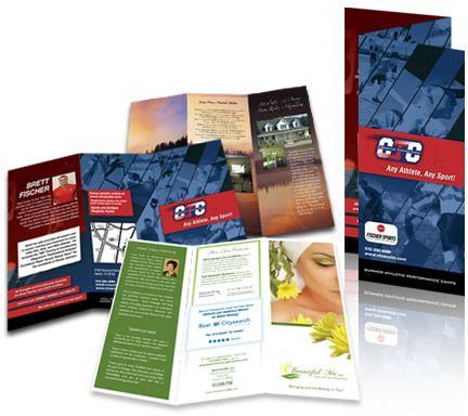 Brochures/Flyers 8.5 x 14
