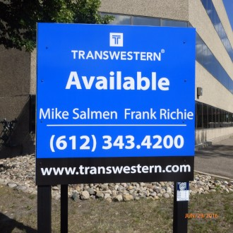 4' x 4' Commercial Realty Sign