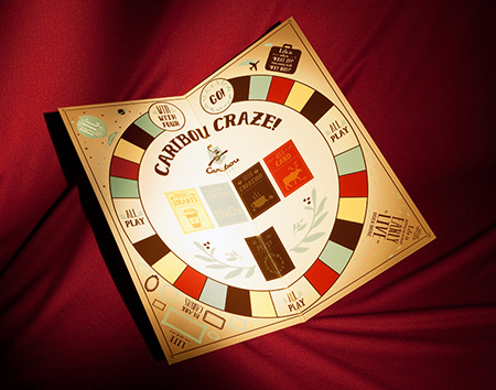 Caribou Game Board