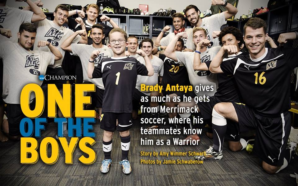NCAA Champion Magazine: One of the Boys