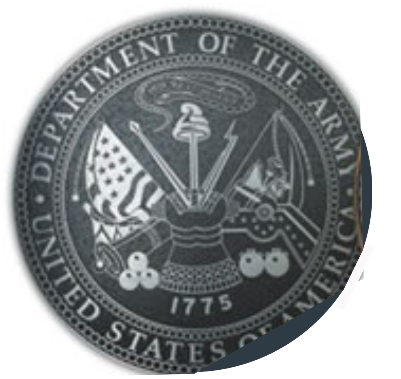 V31730- Engraved US Army Great Seal