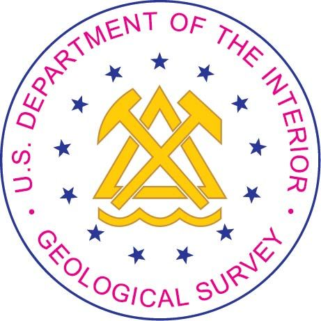 U30627 - United States Geological Survey (USGS) Seal Carved Wood Wall Plaque