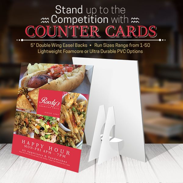 Counter Cards