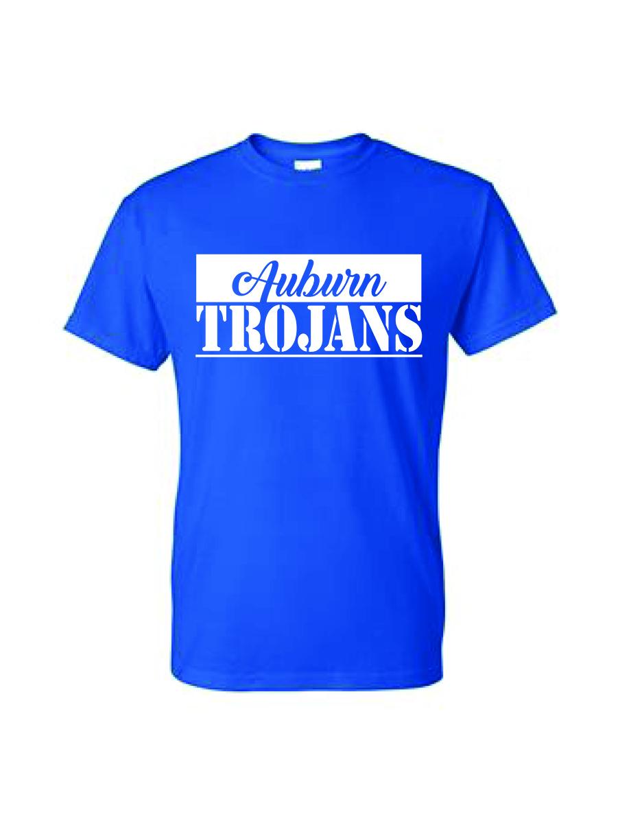 Auburn TROJANS T-shirt (Blue)