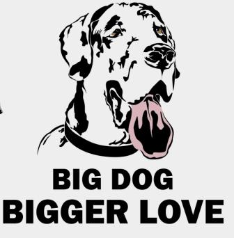 Big Dog, Bigger Love - Large