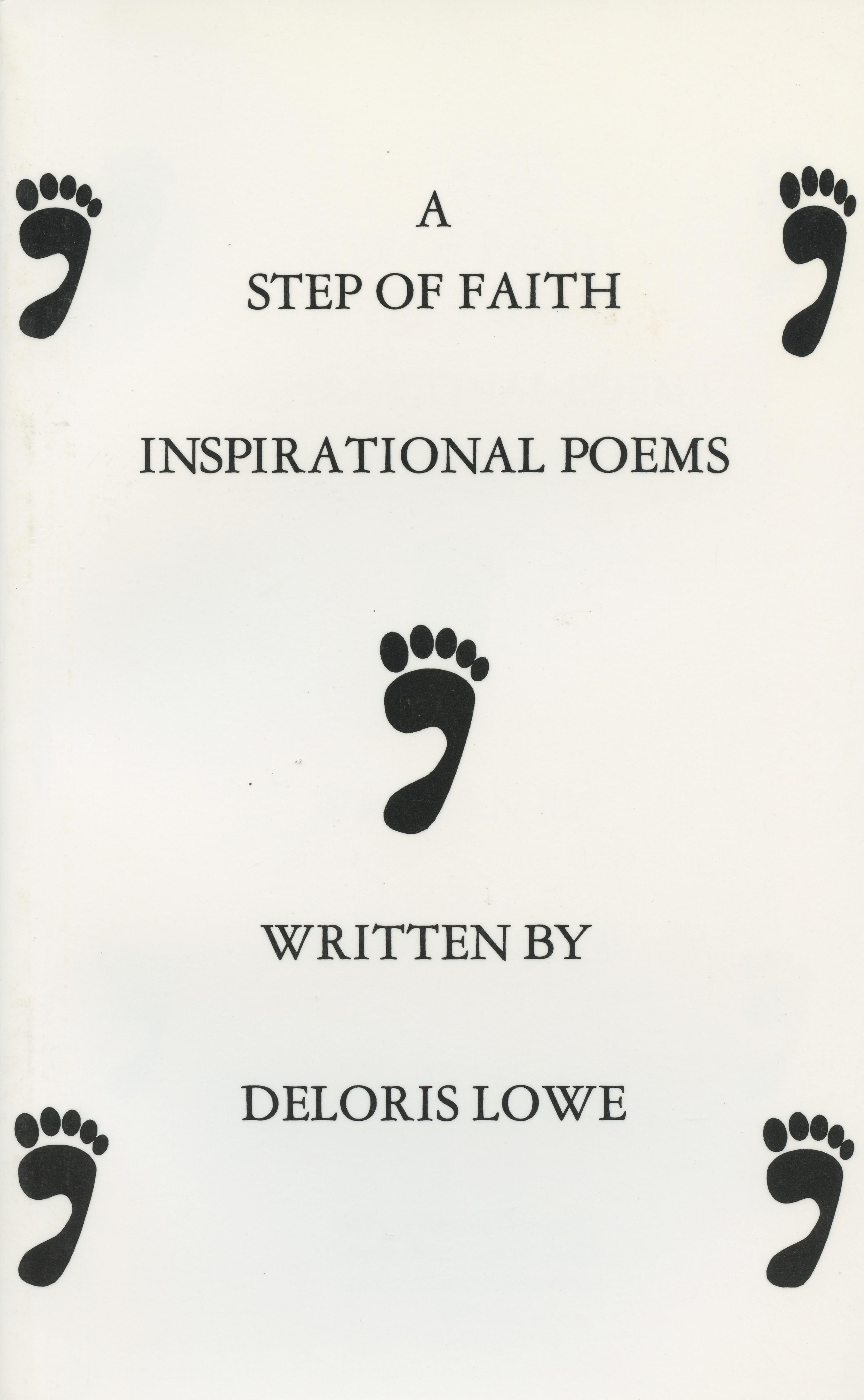 A Step of Faith -- Inspirational Poems