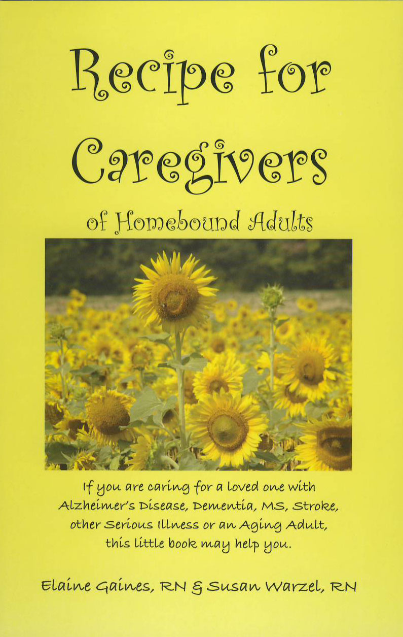 Recipe for Caregivers of Homebound Adults