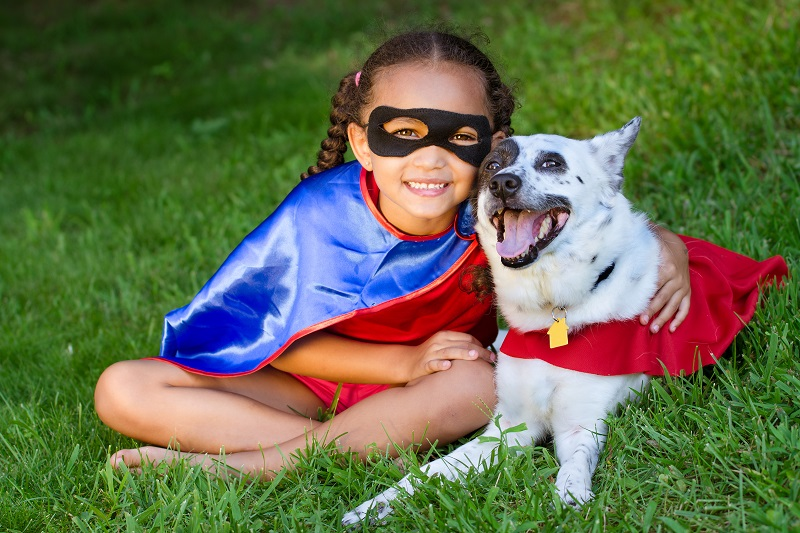 Superheroes come in all shapes and sizes