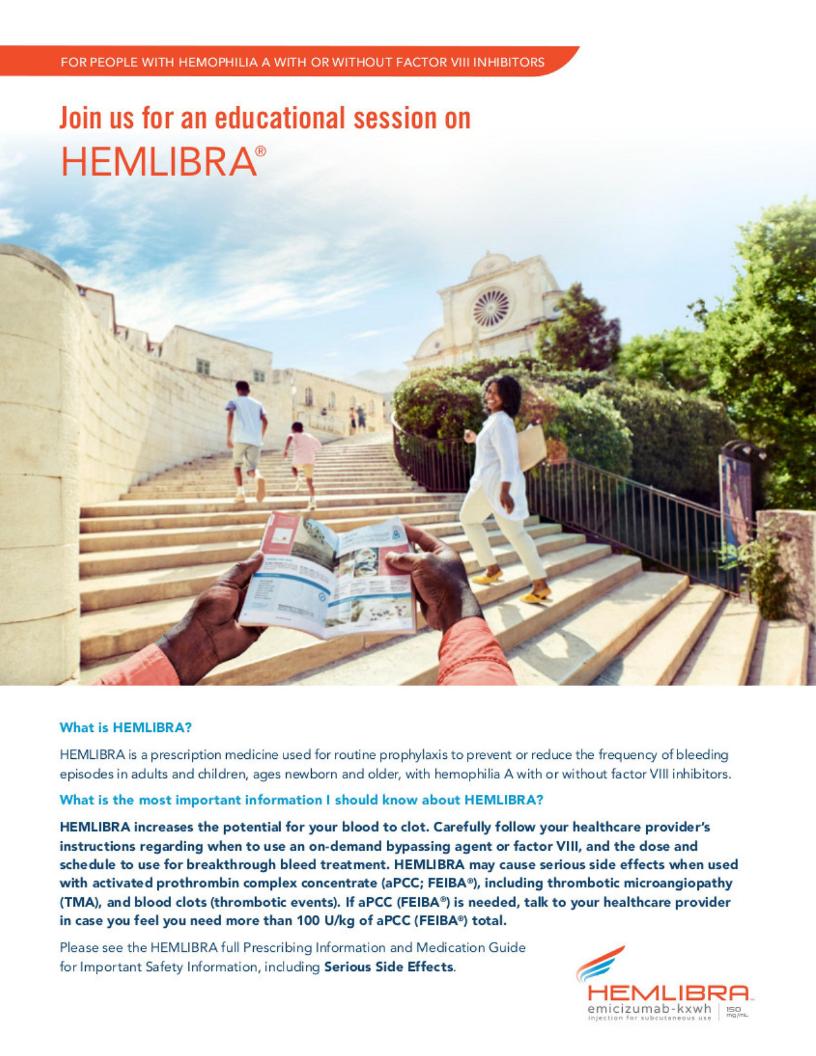 Exploring Hemlibra