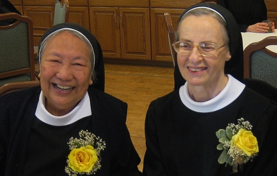 Sr. Barbara and Sr. Antoinette- Golden Jubilee